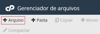 +Arquivo ou +Pasta