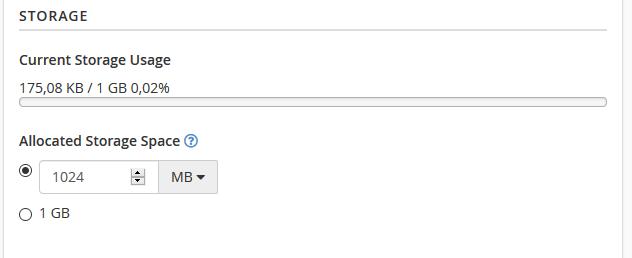 Trocando a cota do email.