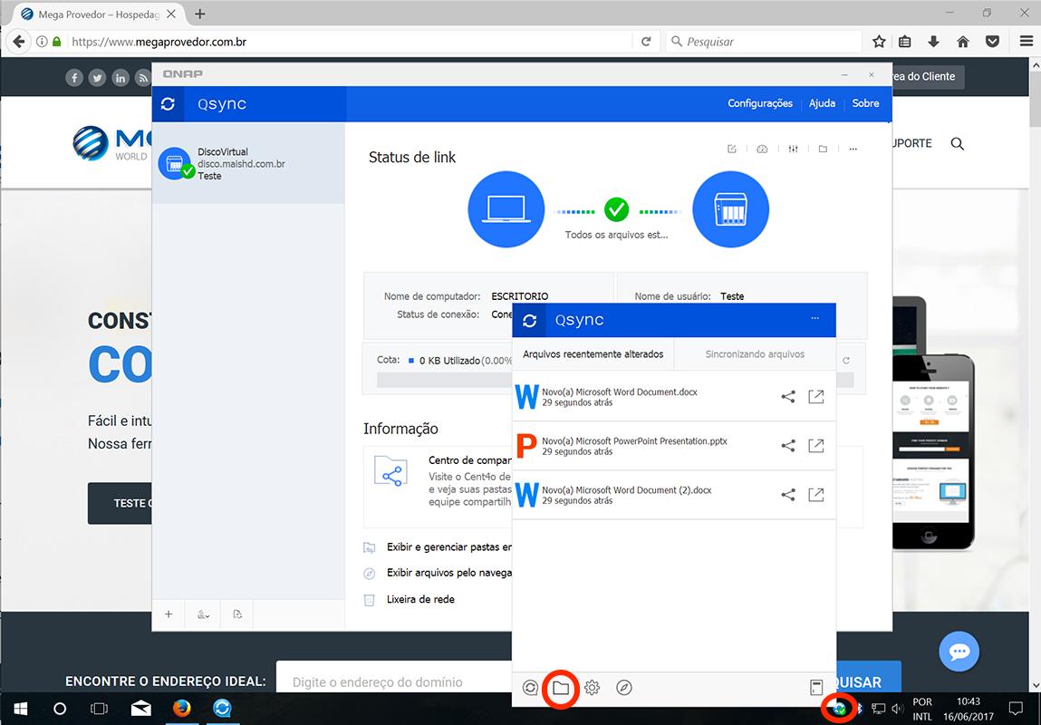 Instalar e configurar o QSync no Windows - Base de Conhecimento